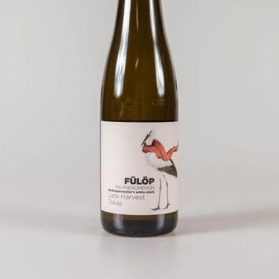 1/2 fles Fülöp late harvest Tokaji - Furmint & Hárzlevelü