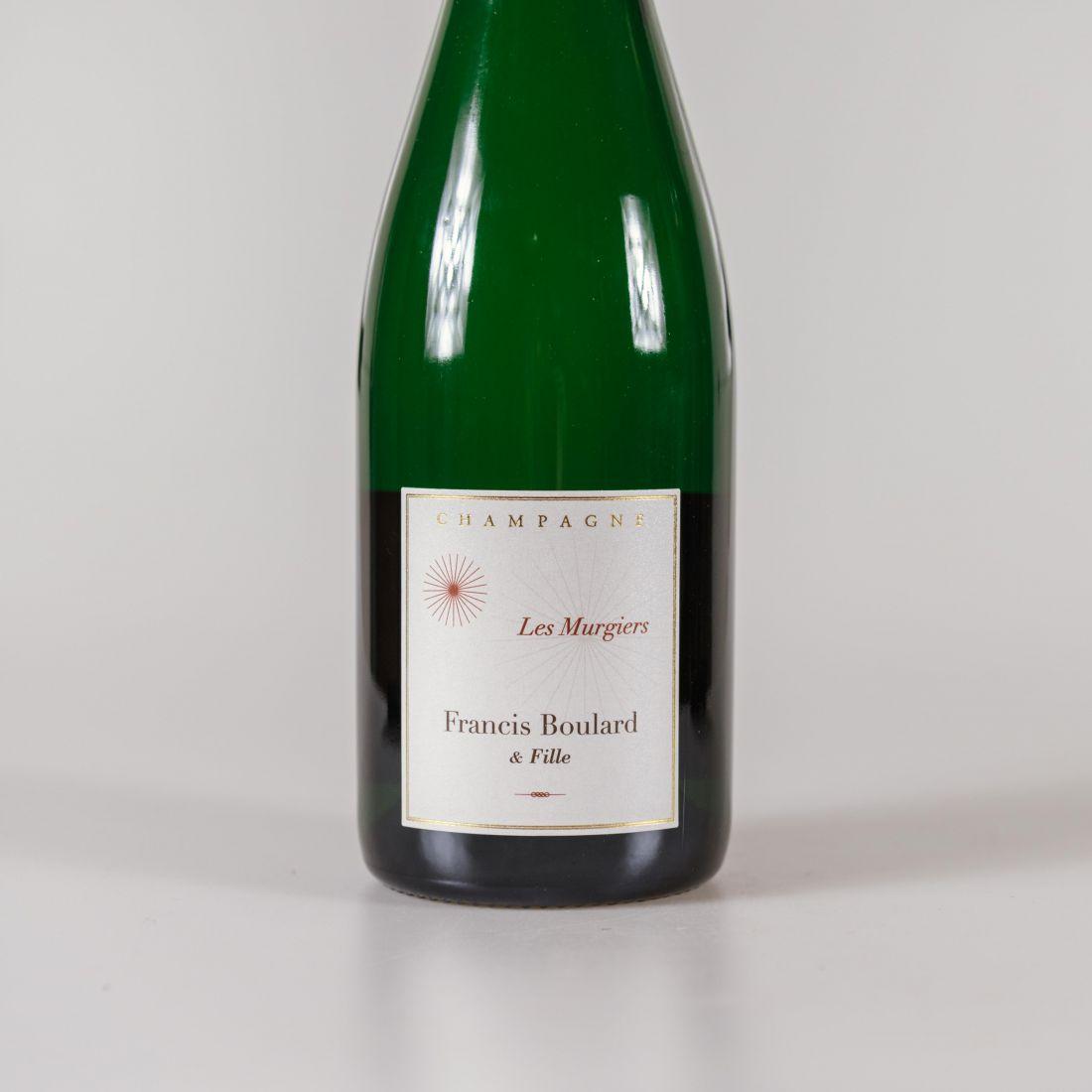 champagne les murgiers brut nature blanc des noirs