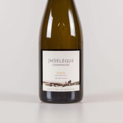 Champagne Soliste 1e cru 'les Gouttes d'or' - Pinot Meunier