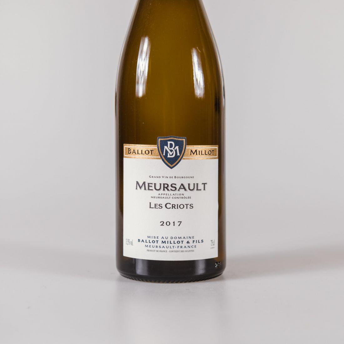 meursault criots chardonnay bm